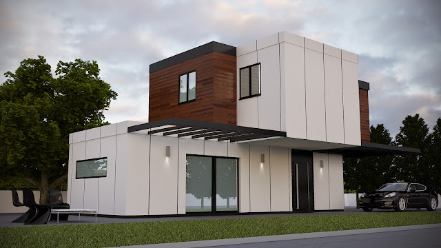Casa modular Resan - Construcción industrializada