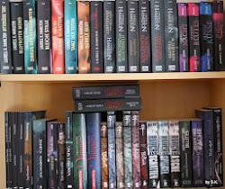 Ein Teil meiner Bücherregale