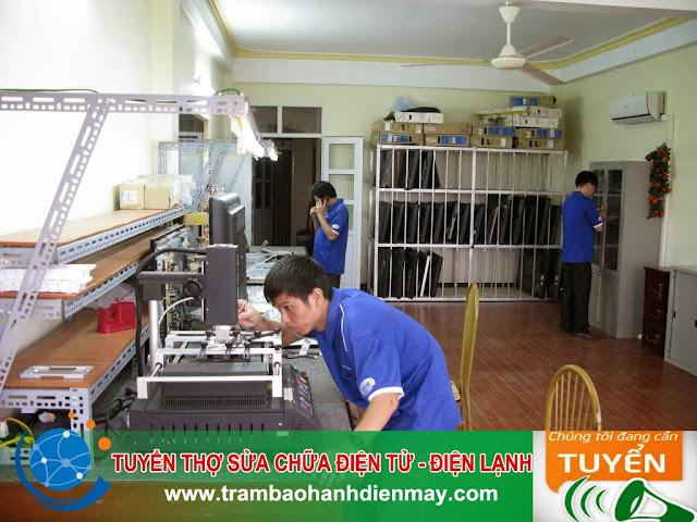 Cần Tuyển thợ sửa chữa điện tử, điện lạnh
