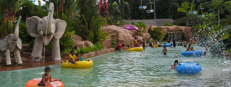 taman tema air(waterpark)