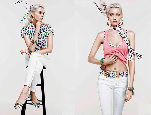 i heart maya fashion blog showing the versace for h&m spring/summer 2012 cruise collection, versace trends for summer 2012