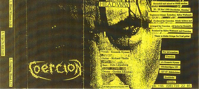 Coercion  - Headway (Demo) (1993 )