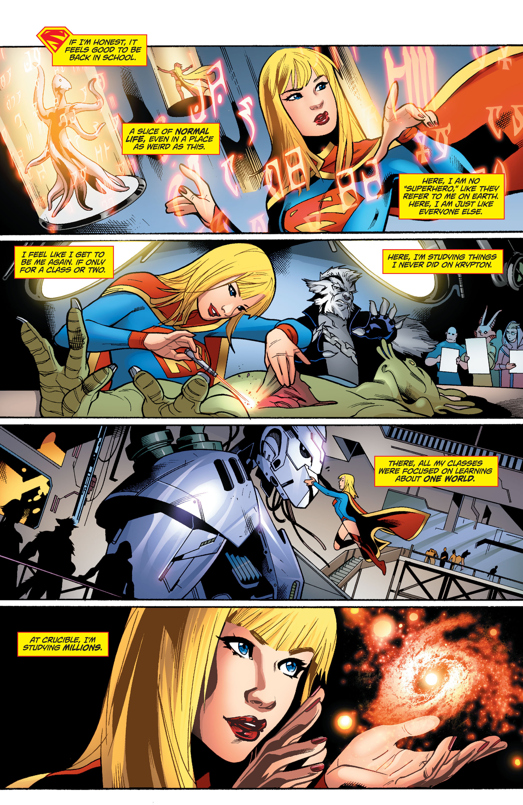 Supergirl (2011) Issue #37 #39 - English 7