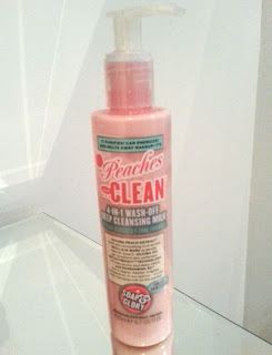 Soap & Glory's Peaches & Clean 4-in-1 Deep Cleansing Milk