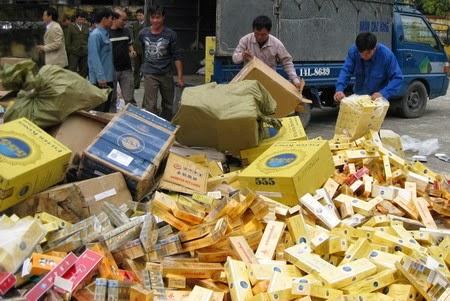 Công an thị xã An Khê: Bắt giữ hơn 17.000 gói thuốc lá ngoại nhập lậu
