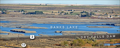 Banks Lake drawdown.