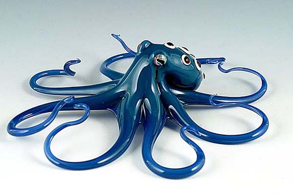 15-Spotted-Octopus-Scott-Bisson-Glass-Sea-and-Land-Animals-www-designstack-co