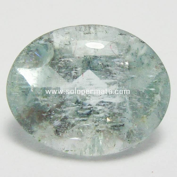 Batu Permata Aquamarine Beryl - 13B03
