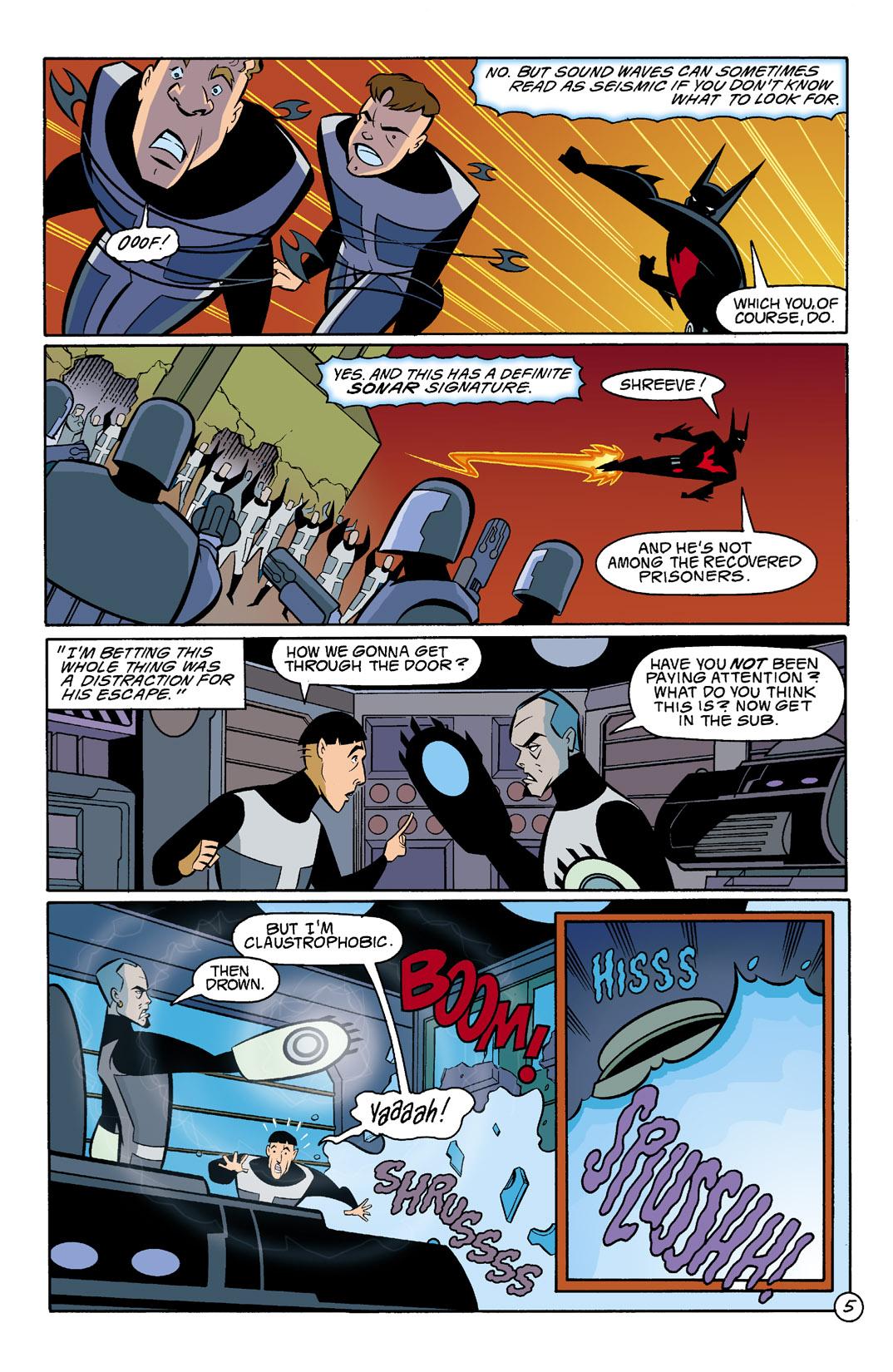 Batman Beyond [II] Issue #5 #5 - English 6