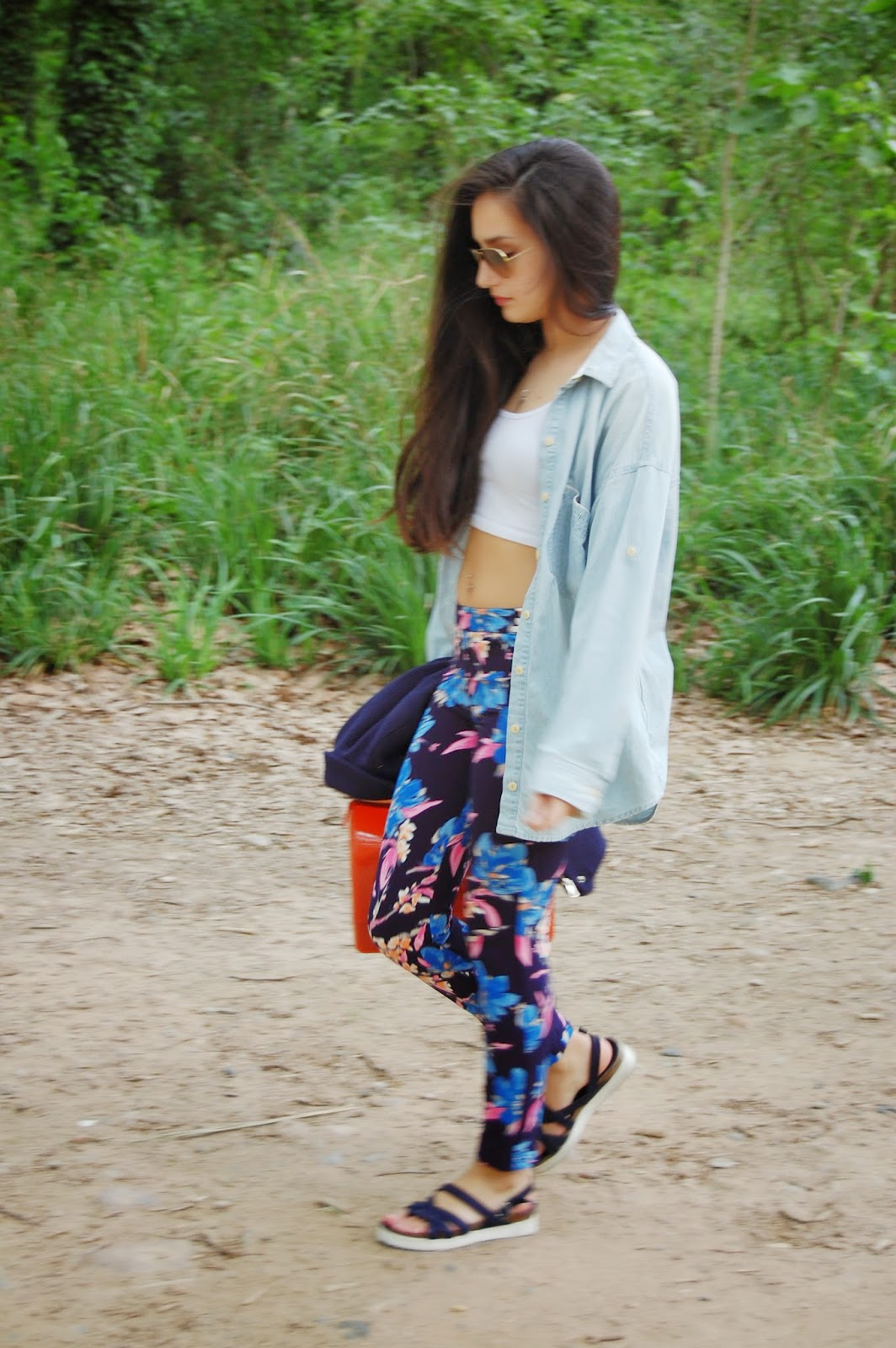 outfit floral print