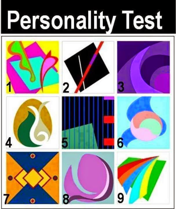 Color shape personality test