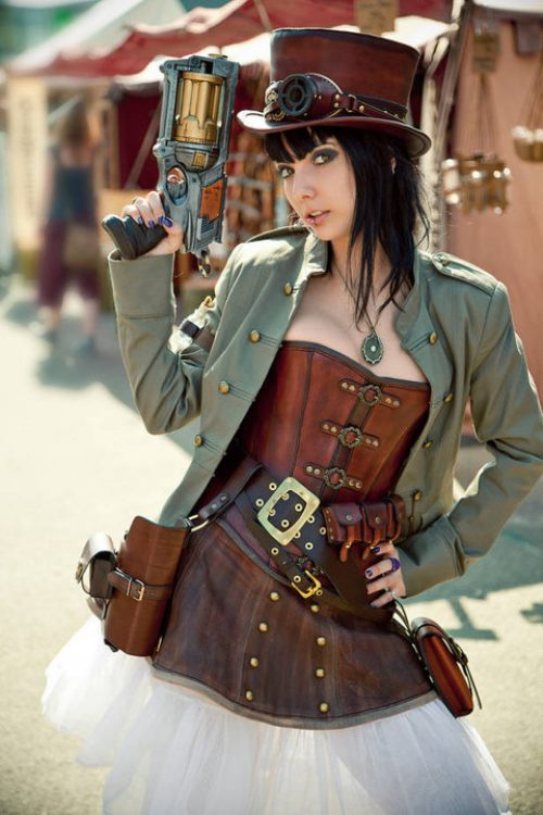 Cosplay Steampunk Sexy Girls