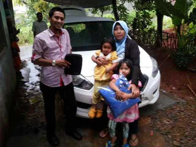 Terimakasih atas kepercayaan Pak Toyo & Keluarga yg telah membeli Datsun Go+ melalui media www.touchnissan.com.  Semoga Berkah ya Bu...