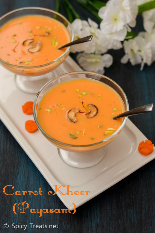 Carrot Payasam(Kheer)