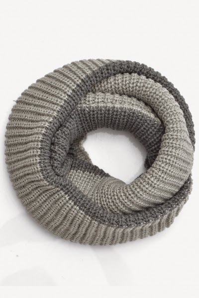 Loop Knit Infinity Scarf