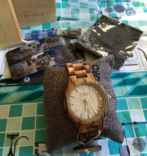 Katty Delux Product Review JORD Wooden Watches