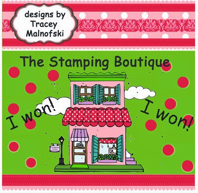 The Stamping Boutique Winner