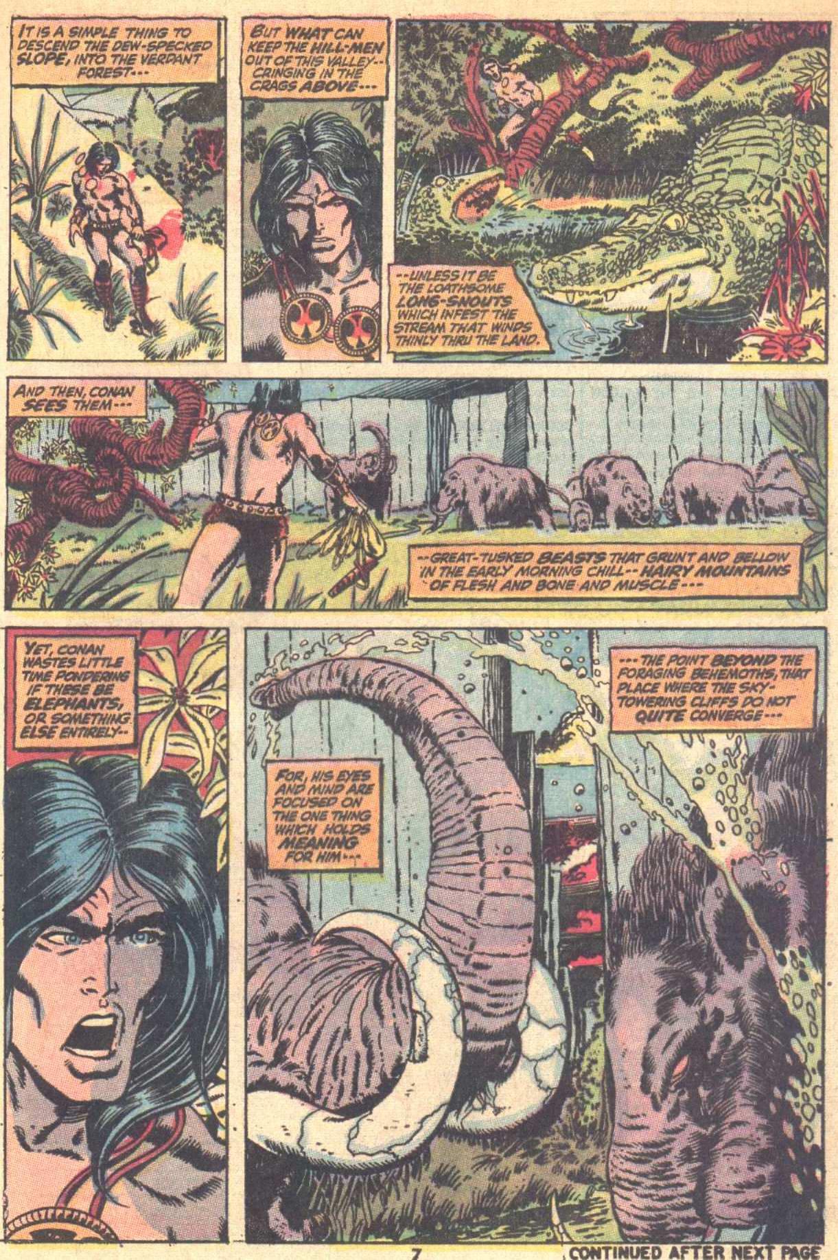 Conan the Barbarian (1970) Issue #9 #21 - English 7