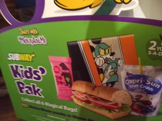 Subway Kids' Pak