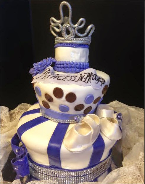 Princess Baby Shower Cake. Posted By Elena At 4:24 AM