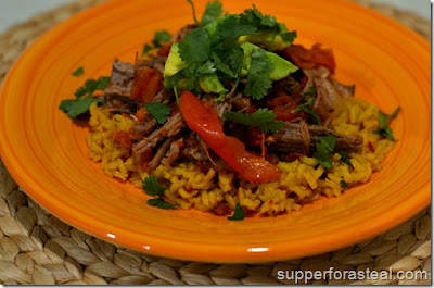 Supper for a Steal: Cuban Braised Beef & Peppers