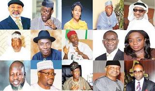 President Buhari's Ministers