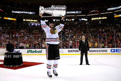 The Chicago Blackhaws won the 2013 Stanley Cup on Monday.