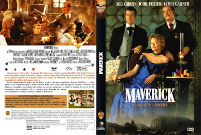 Cover, caratula, dvd:  Maverick | 1994