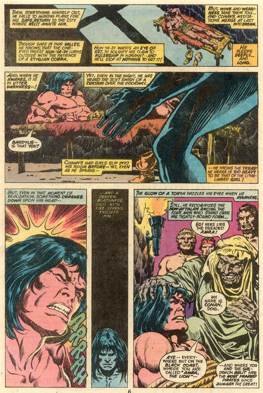 Conan the Barbarian (1970) Issue #80 #92 - English 5