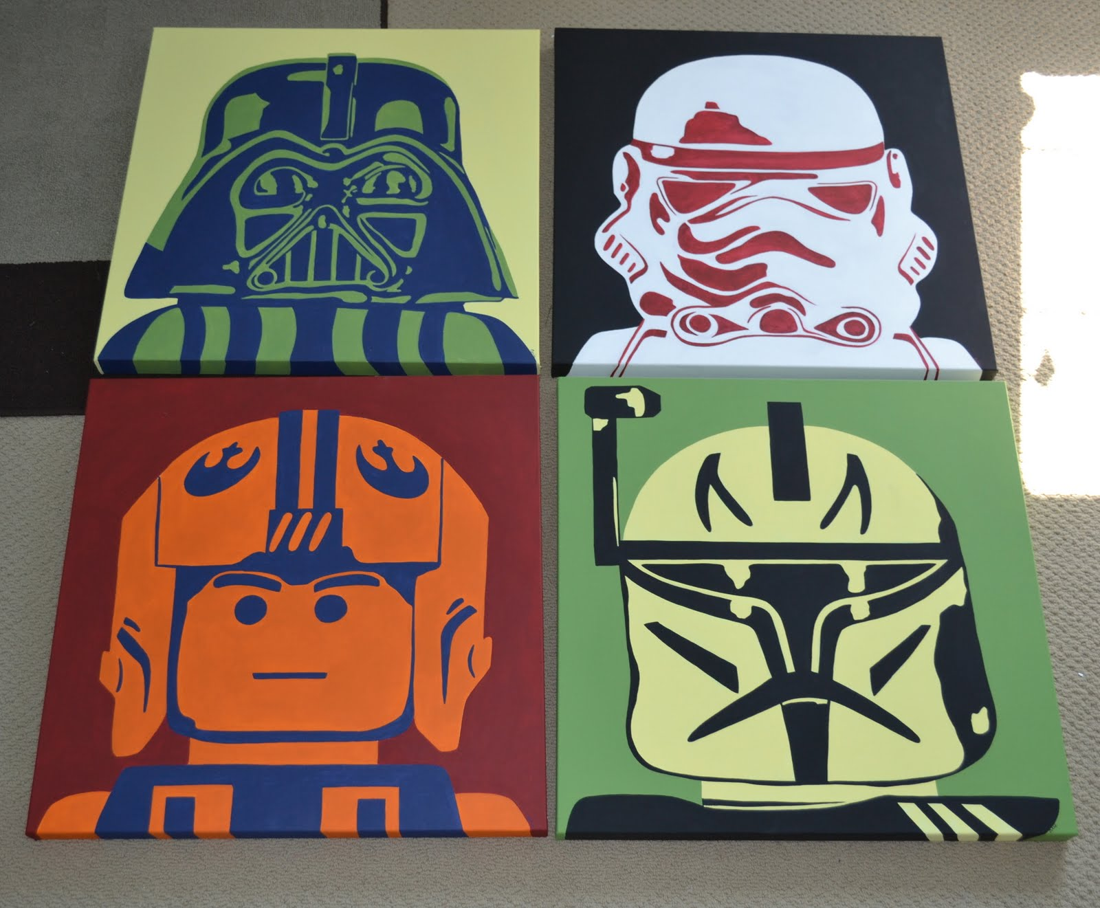 You 39 Re Art By Corie Kline Star Wars Legos Pop Art