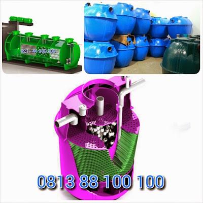 pabrik septic tank biotech modern dan ramah lingkungan, biogift, biofive