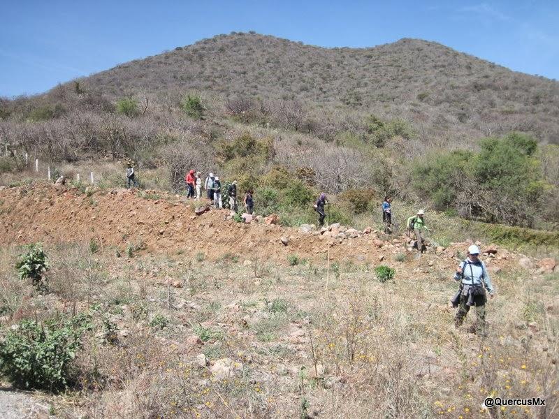 Dejando atrás el Cerro de Mazatepec