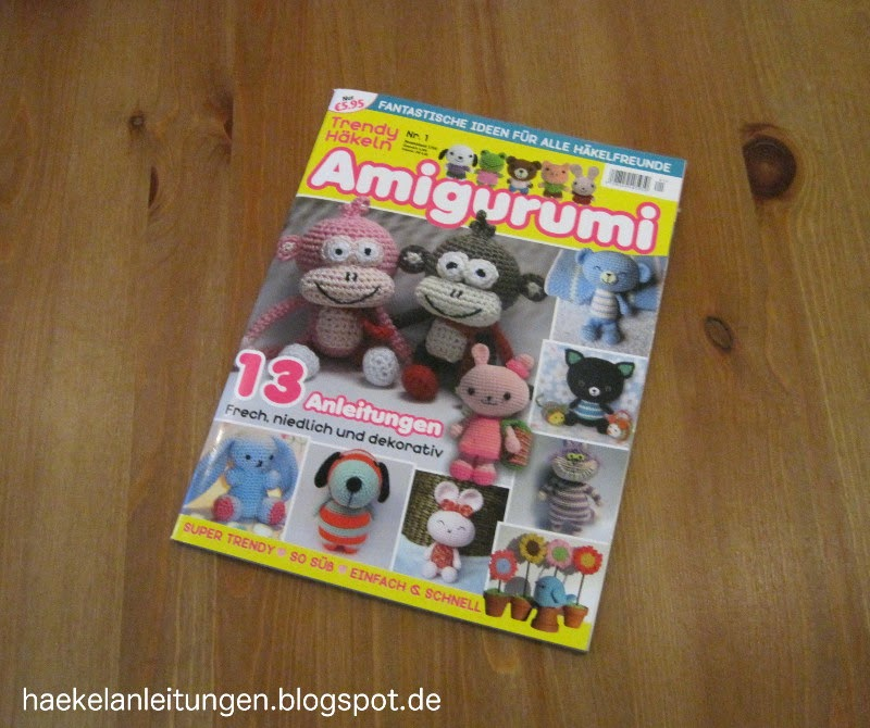 Trendy Hakeln Amigurumi Zeitschrift Verlag : Trendy Hakeln - neue deutsche Zeitschrift - Amigurumi ...