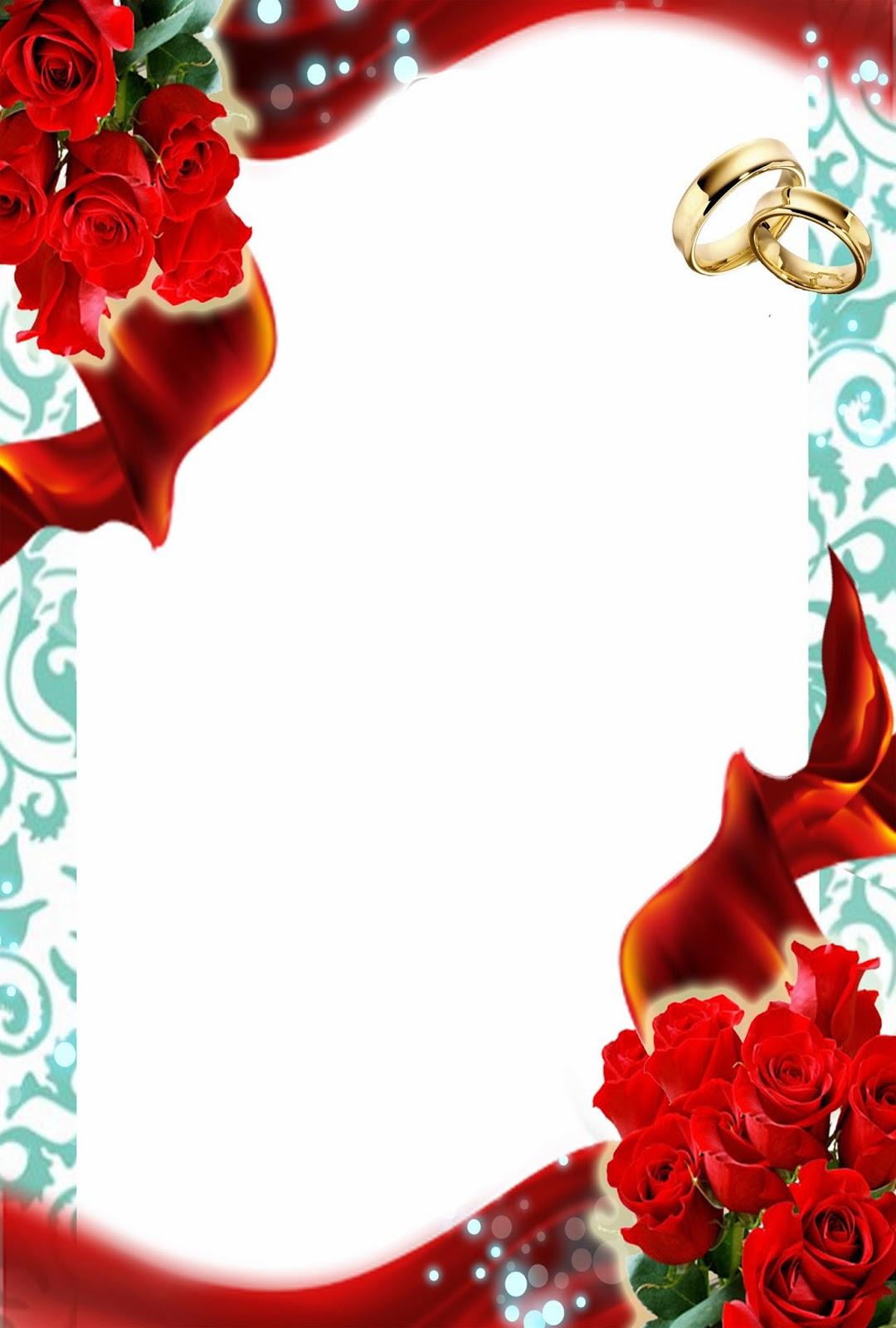 Descarga gratis Invitación para Boda Turquesa, Rosas Rojas y ...