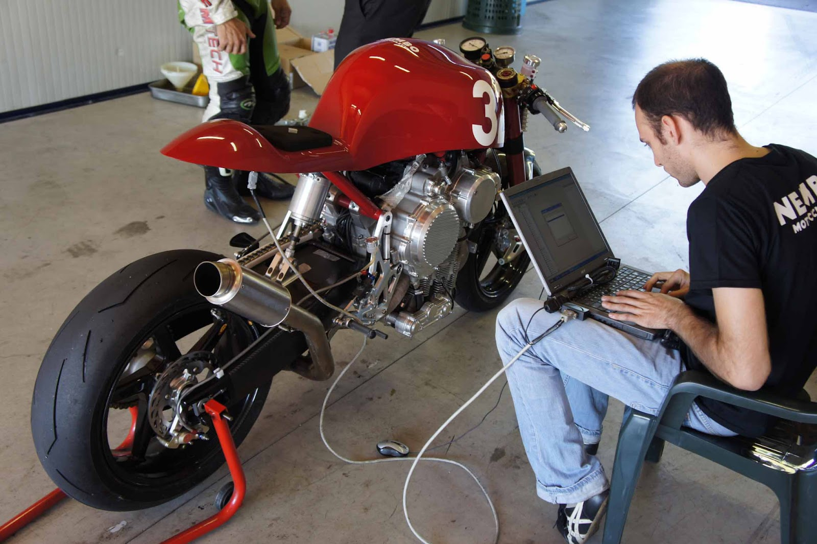 Nembo Motorcycle Testing