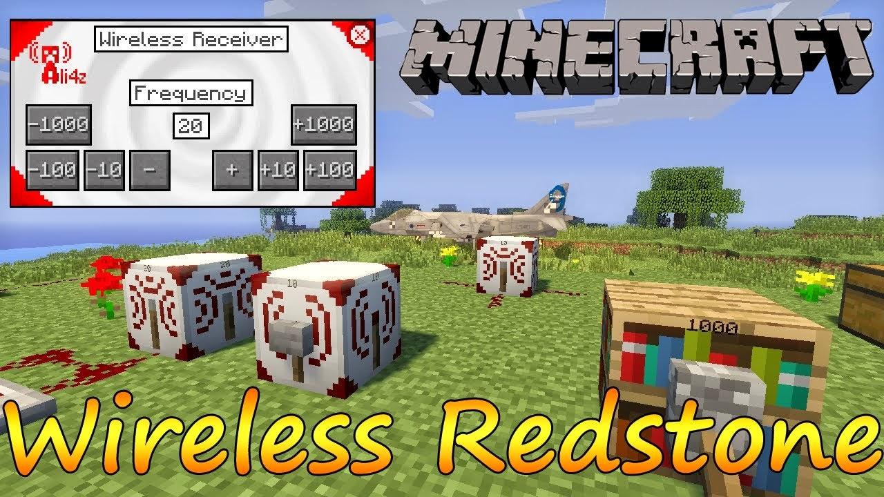 Wireless Redstone 1.8