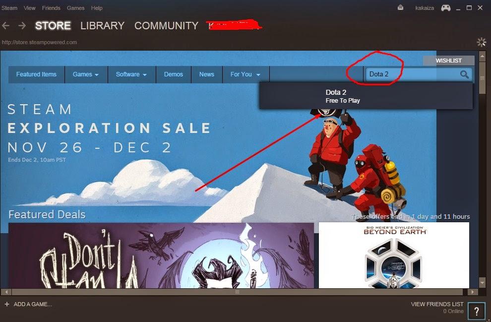 Cara Download, Instal Dan Bermain DOTA 2 Terbaru