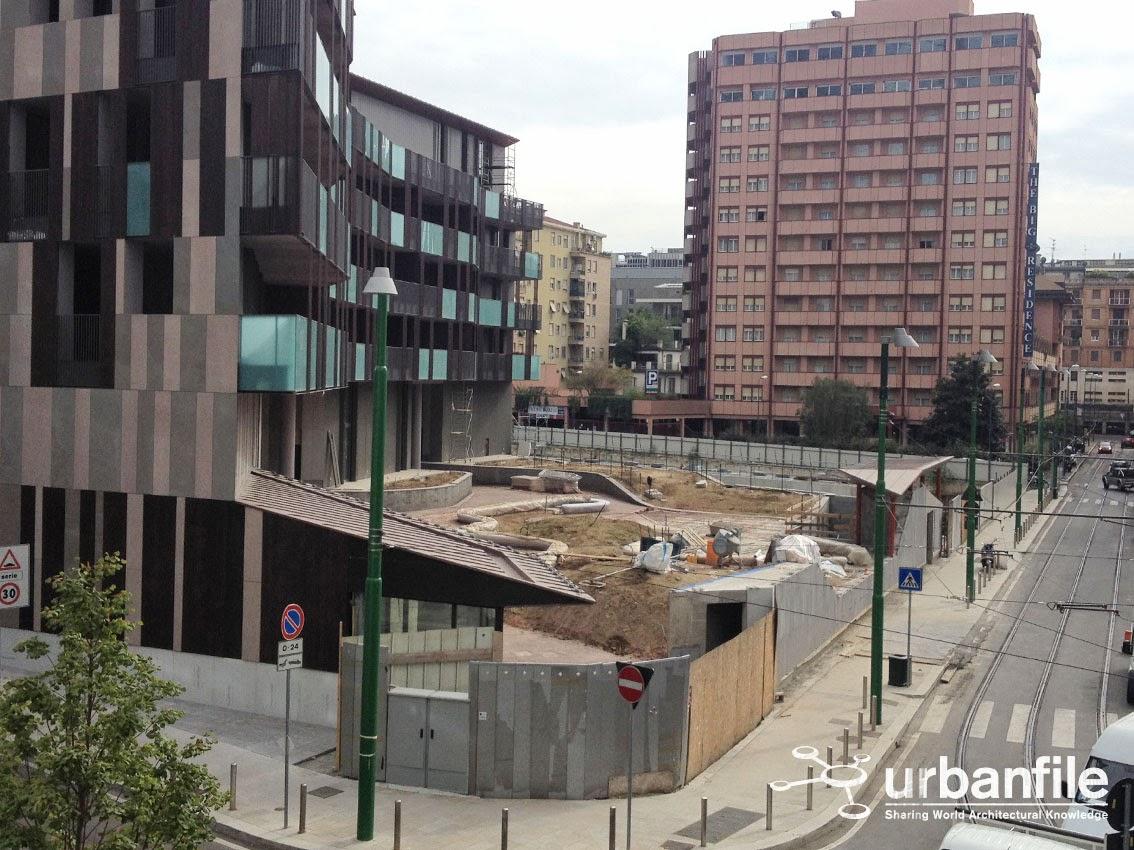 Urbanfile milano zona porta garibaldi cantiere della - Da porta garibaldi a milano centrale ...
