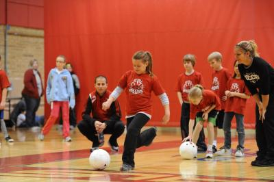 Community Youth Day Soccer Clinic at SVSU