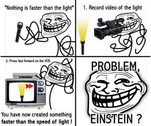 Nothing Is Faster Than Light
