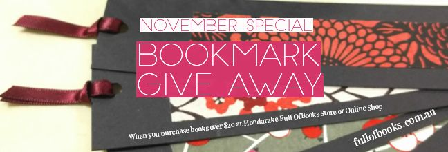 Bookmark give away