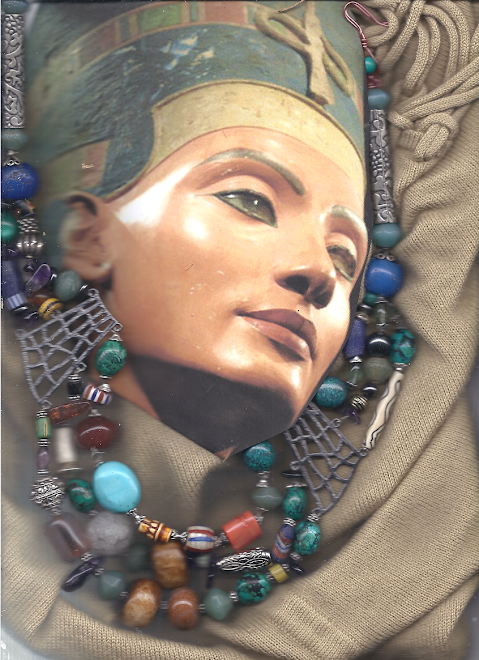 NEFERTITI  DAUGHTER OF ETERNITY