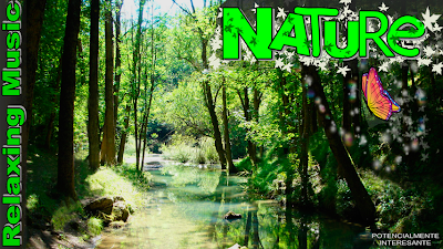graphic promo nature relax music
