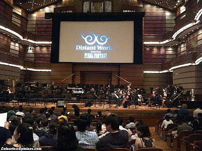 Distant Worlds Final Fantasy Malaysia MPO KLCC Hall Stage