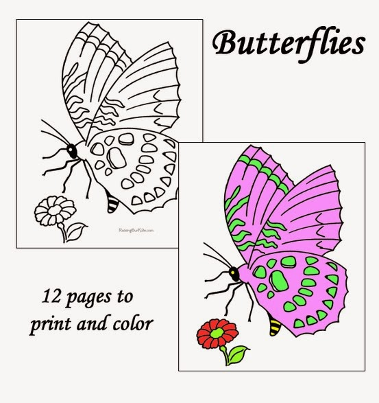http://www.raisingourkids.com/coloring-pages/animal/butterfly/