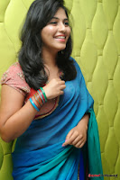 actress anjali hot saree photos at masala telugu movie audio launch+(14) Anjali Saree Photos at Masala Audio Launch