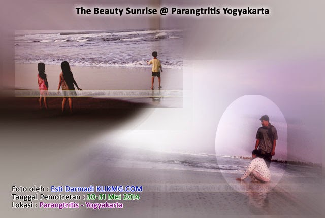 PANTAI PARANGTRITIS YOGYA ( SUNRISE ) - Foto oleh : KLIKMG Fotografer Wedding Journalism