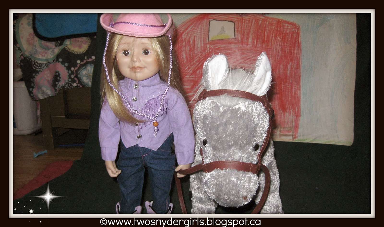 Maplelea Doll 18 inch with horse