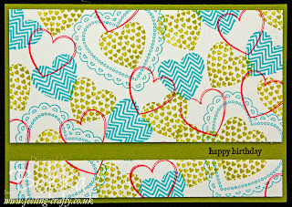 Hearts a Flutter Birthday Card by Stampin' Up! Demonstrator Bekka Prideaux - check her blog for more ideas with this stamp set