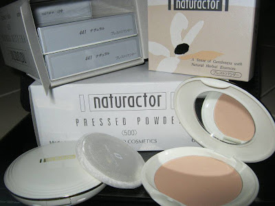 MEIKO NATURACTOR: PRESSED POWDER